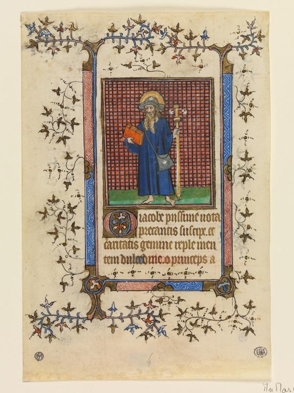 PARIS, Bibliothèque de l'Ecole des Beaux-Arts, Mn.Mas 0061, vue 3 (verso)