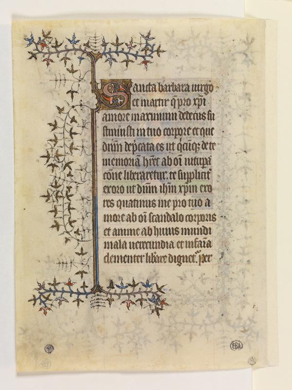PARIS, Bibliothèque de l'Ecole des Beaux-Arts, Mn.Mas 0064, vue 2