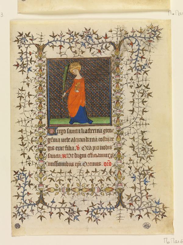 PARIS, Bibliothèque de l'Ecole des Beaux-Arts, Mn.Mas 0066, vue 1