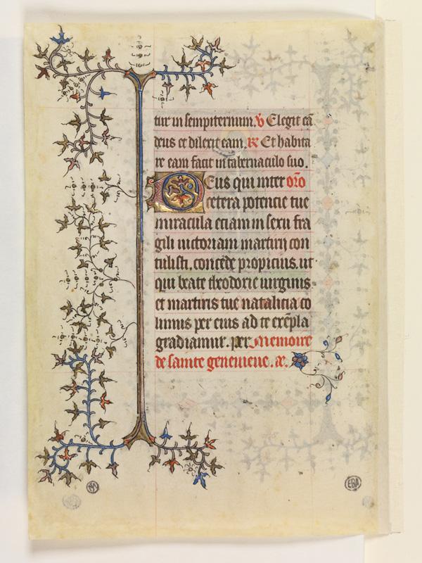PARIS, Bibliothèque de l'Ecole des Beaux-Arts, Mn.Mas 0068, vue 2