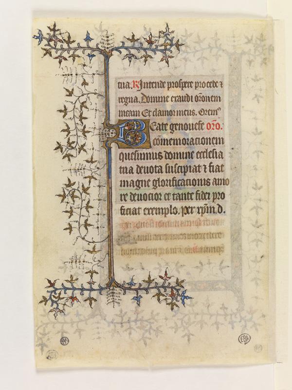PARIS, Bibliothèque de l'Ecole des Beaux-Arts, Mn.Mas 0069, vue 2