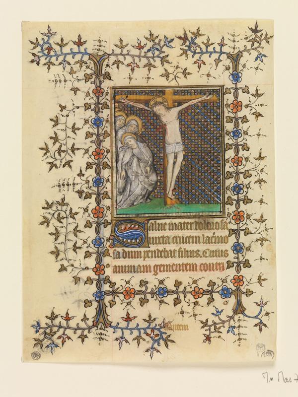 PARIS, Bibliothèque de l'Ecole des Beaux-Arts, Mn.Mas 0071, vue 3 (verso)