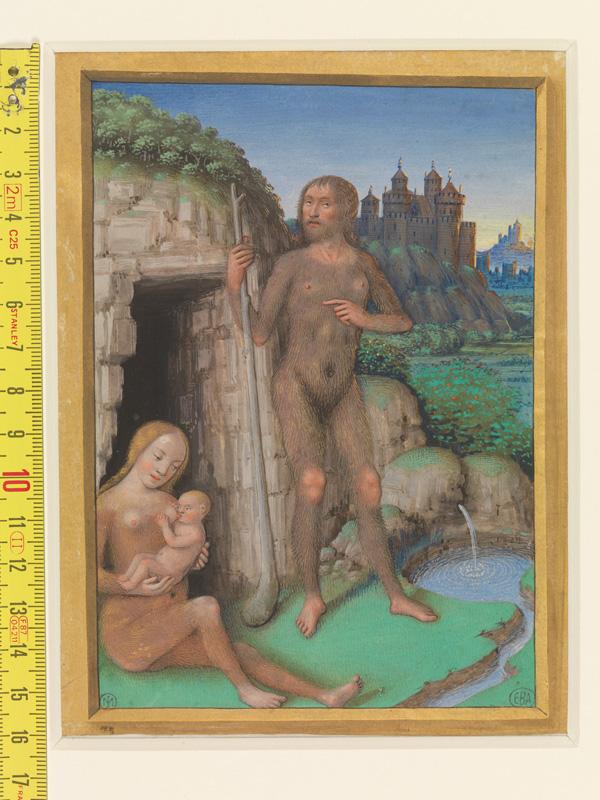 PARIS, Bibliothèque de l'Ecole des Beaux-Arts, Mn.Mas 0090, vue 1 avec réglet