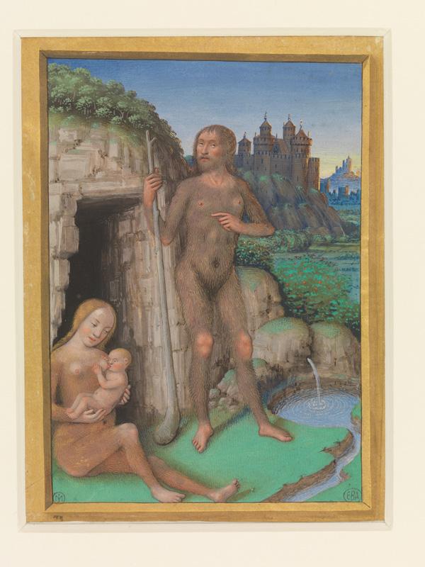 PARIS, Bibliothèque de l'Ecole des Beaux-Arts, Mn.Mas 0090, vue 1