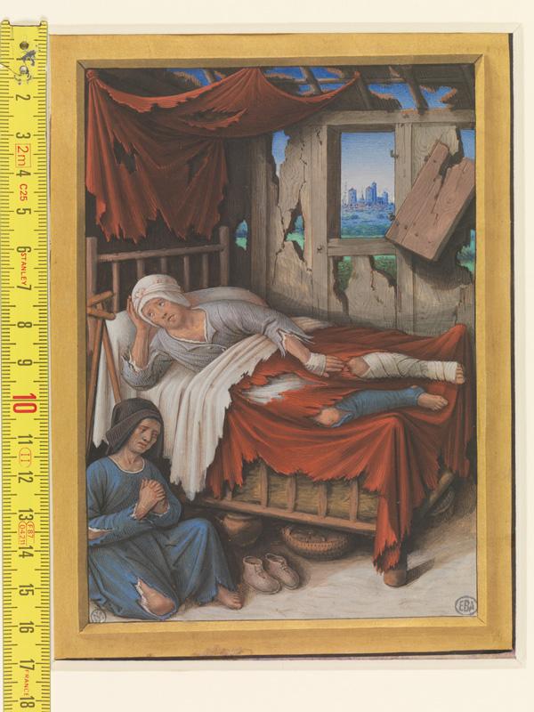 PARIS, Bibliothèque de l'Ecole des Beaux-Arts, Mn.Mas 0091, vue 1 avec réglet