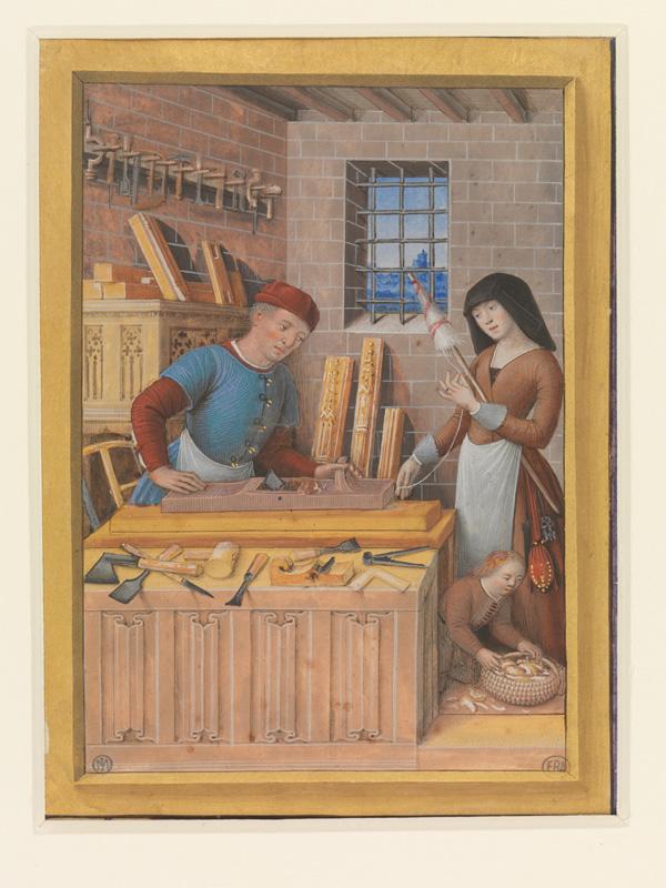 PARIS, Bibliothèque de l'Ecole des Beaux-Arts, Mn.Mas 0092, vue 1