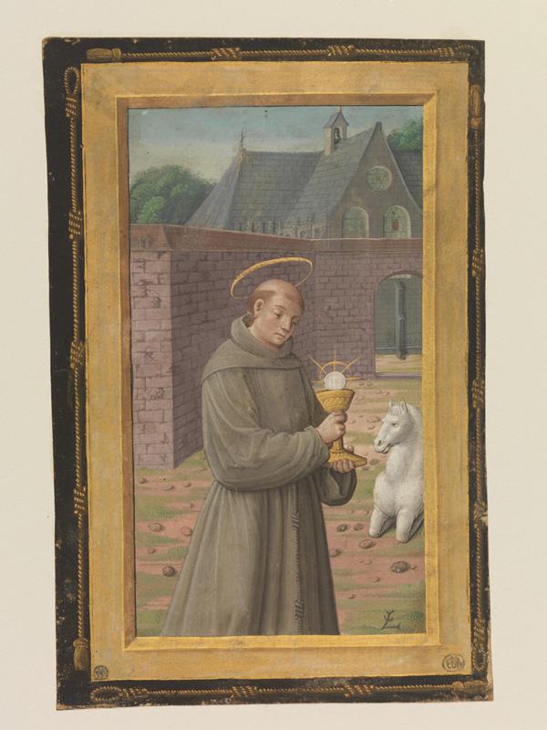 PARIS, Bibliothèque de l'Ecole des Beaux-Arts, Mn.Mas 0094, vue 1