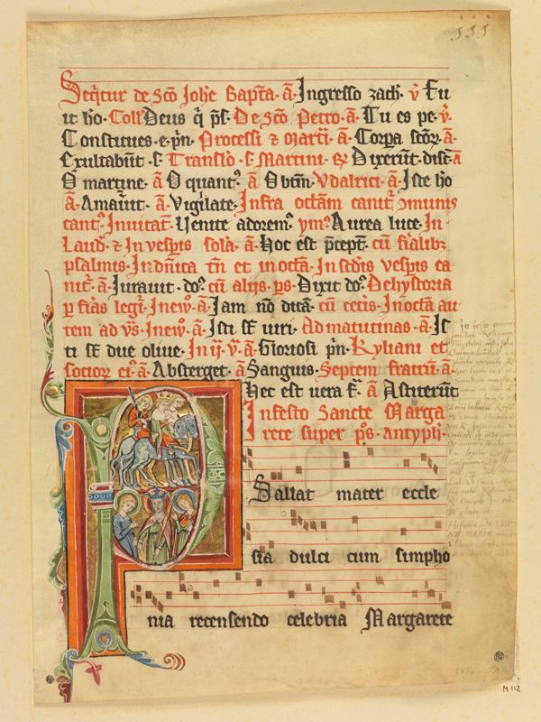 PARIS, Bibliothèque de l'Ecole des Beaux-Arts, Mn.Mas 0112, vue 1