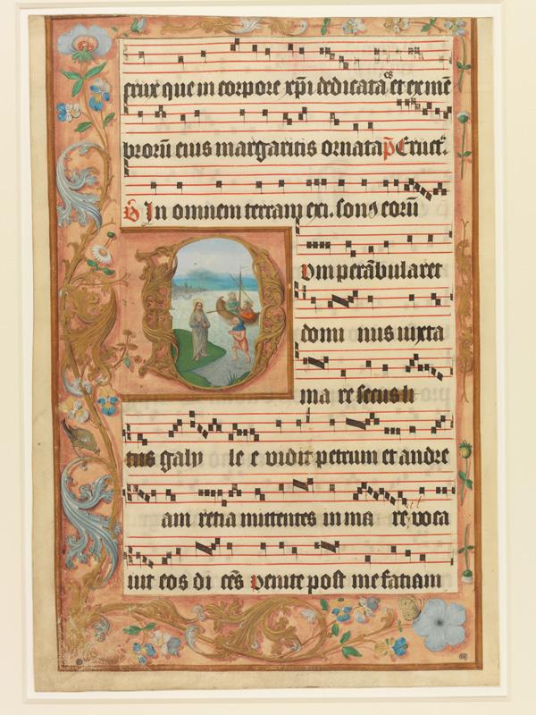 PARIS, Bibliothèque de l'Ecole des Beaux-Arts, Mn.Mas 0122, vue 1