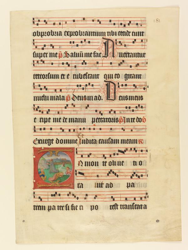PARIS, Bibliothèque de l'Ecole des Beaux-Arts, Mn.Mas 0127, vue 1