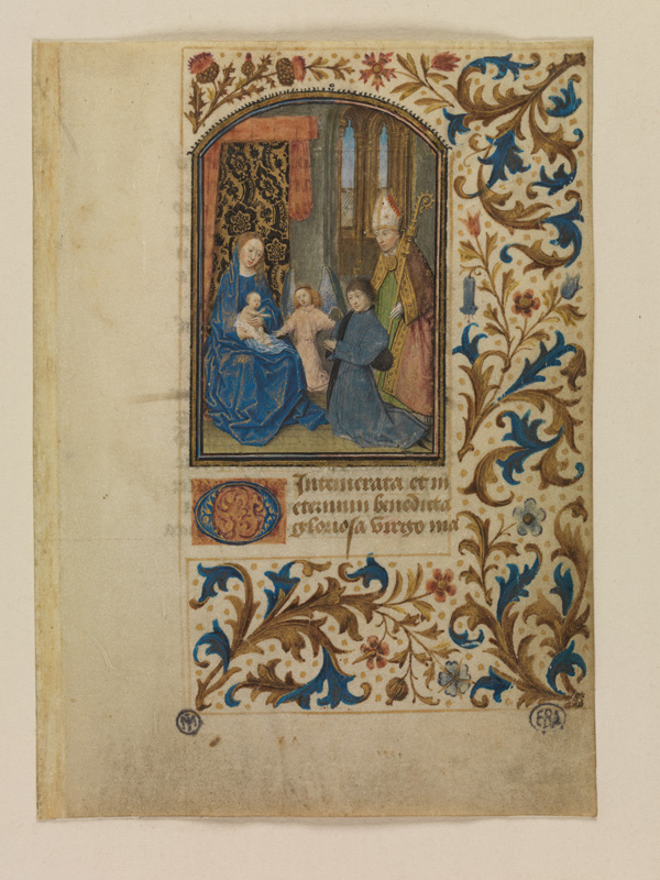 PARIS, Bibliothèque de l'Ecole des Beaux-Arts, Mn.Mas 0130, vue 1
