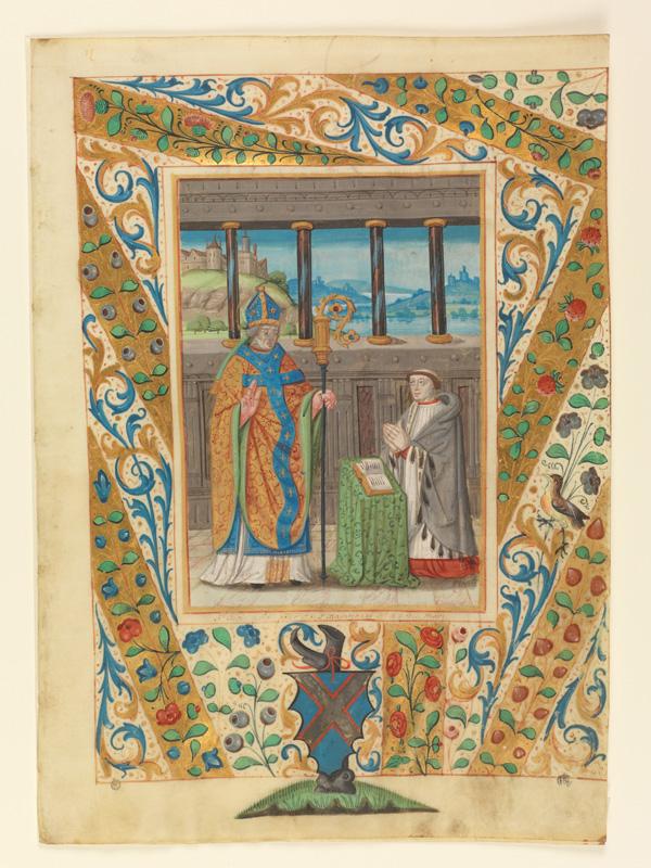 PARIS, Bibliothèque de l'Ecole des Beaux-Arts, Mn.Mas 0135, vue 1