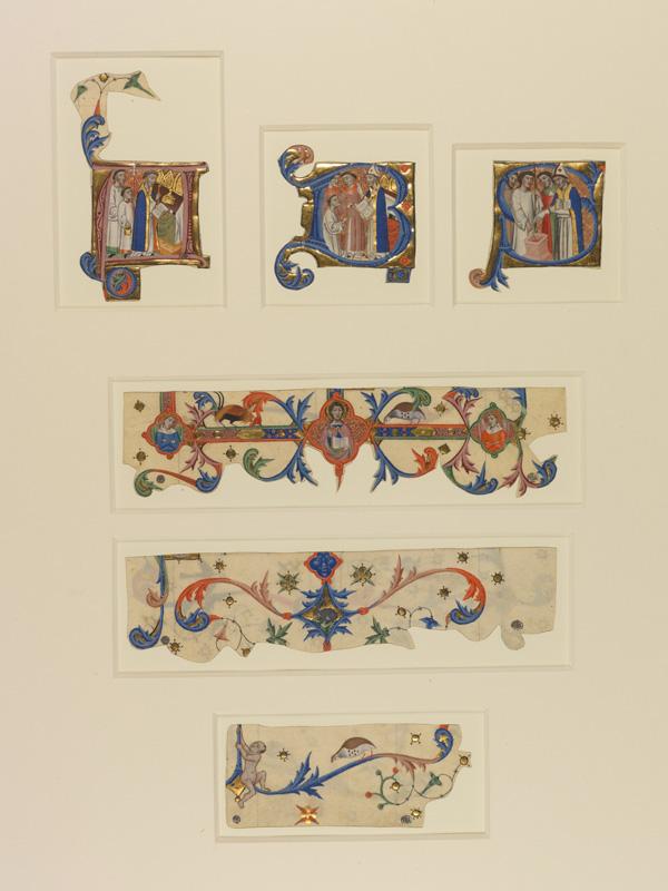 PARIS, Bibliothèque de l'Ecole des Beaux-Arts, Mn.Mas 0140, vue 1 avec réglet