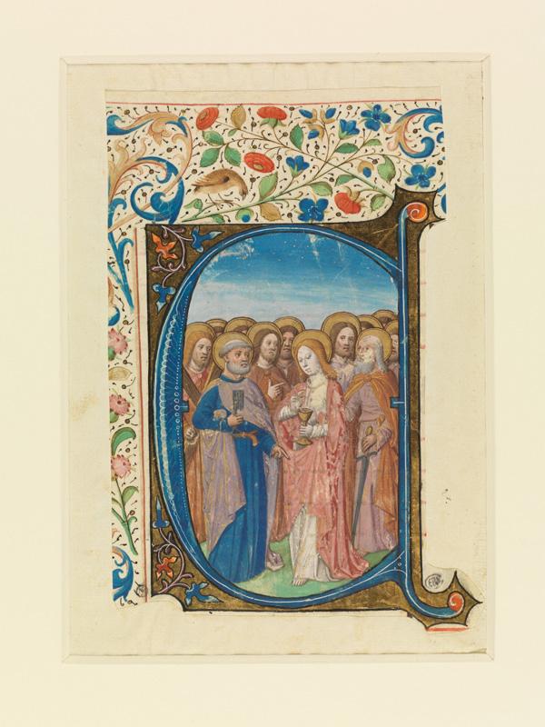 PARIS, Bibliothèque de l'Ecole des Beaux-Arts, Mn.Mas 0147, vue 1