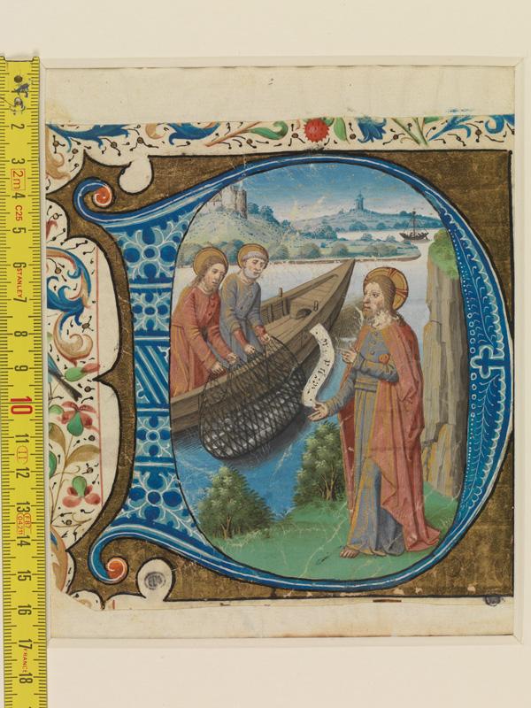 PARIS, Bibliothèque de l'Ecole des Beaux-Arts, Mn.Mas 0149, vue 1 avec réglet