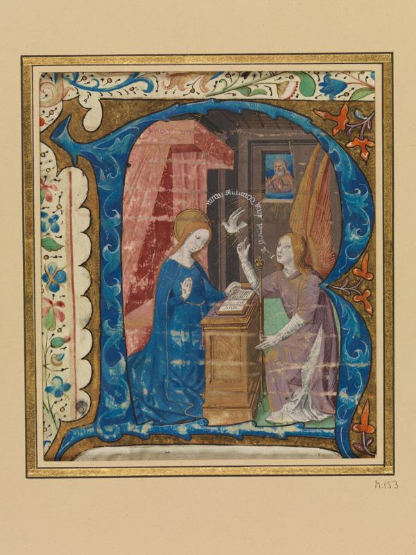 PARIS, Bibliothèque de l'Ecole des Beaux-Arts, Mn.Mas 0153, vue 1