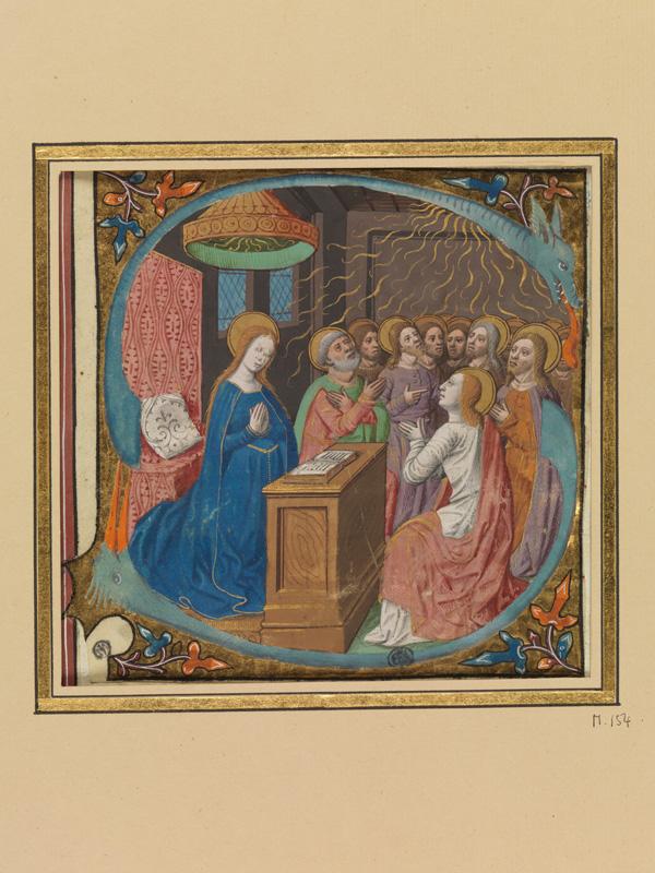 PARIS, Bibliothèque de l'Ecole des Beaux-Arts, Mn.Mas 0154, vue 1