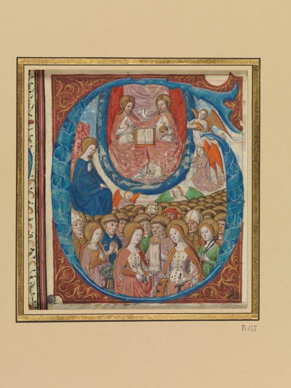 PARIS, Bibliothèque de l'Ecole des Beaux-Arts, Mn.Mas 0155, vue 1