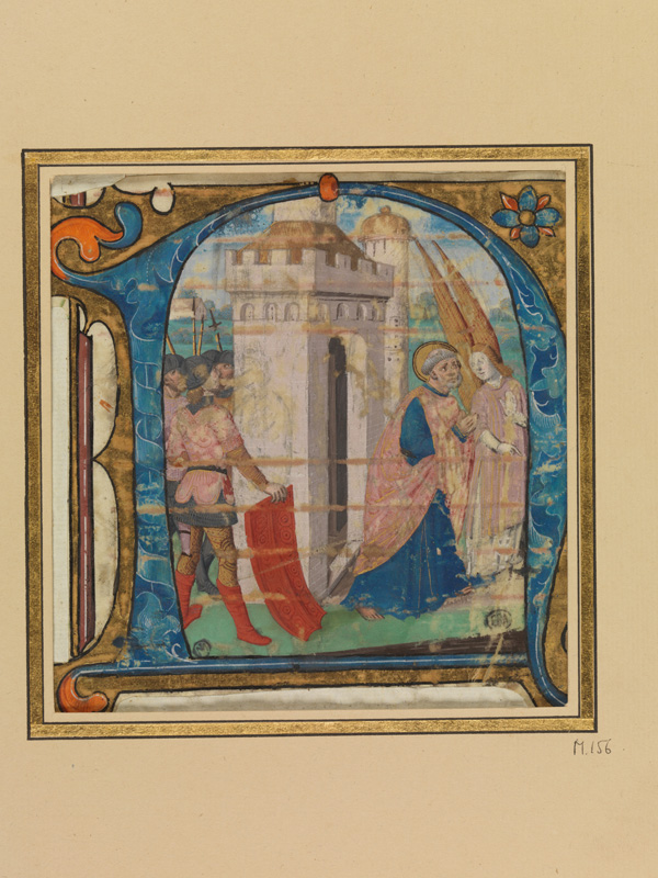 PARIS, Bibliothèque de l'Ecole des Beaux-Arts, Mn.Mas 0156, vue 1