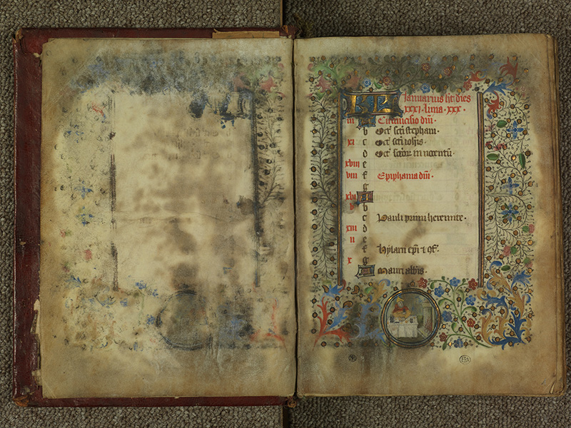 PARIS, Bibliothèque de l'Ecole des Beaux-Arts, Ms.Mas 0004, f. 000Av - 001