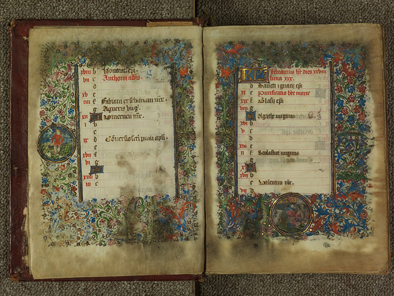 PARIS, Bibliothèque de l'Ecole des Beaux-Arts, Ms.Mas 0004, f. 001v - 002