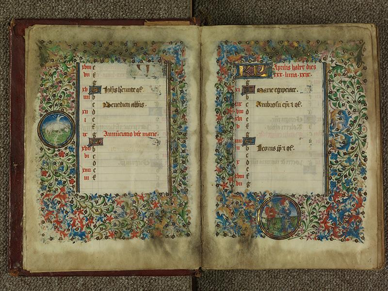 PARIS, Bibliothèque de l'Ecole des Beaux-Arts, Ms.Mas 0004, f. 003v - 004