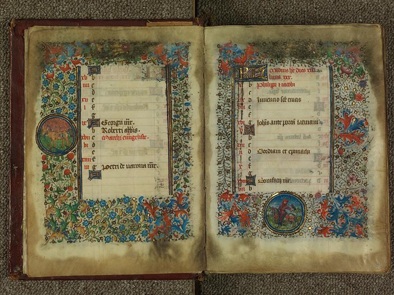 PARIS, Bibliothèque de l'Ecole des Beaux-Arts, Ms.Mas 0004, f. 004v - 005