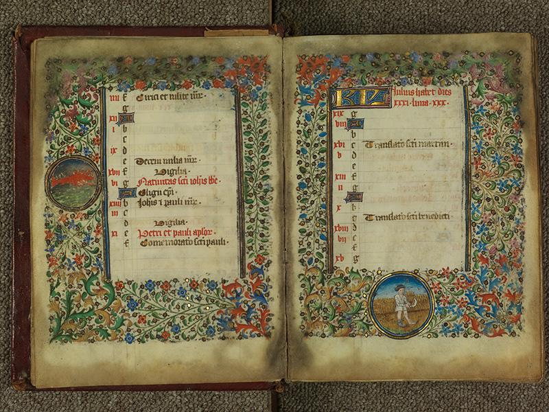PARIS, Bibliothèque de l'Ecole des Beaux-Arts, Ms.Mas 0004, f. 006v - 007