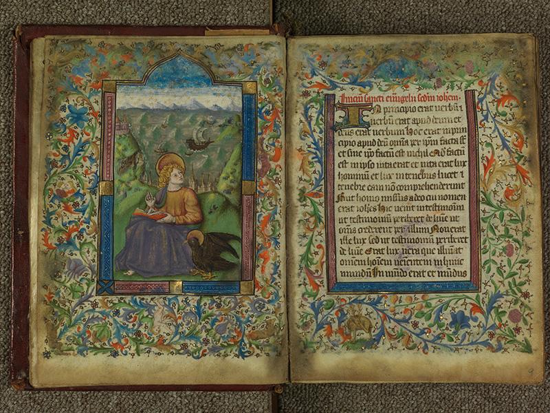PARIS, Bibliothèque de l'Ecole des Beaux-Arts, Ms.Mas 0004, f. 008v - 009