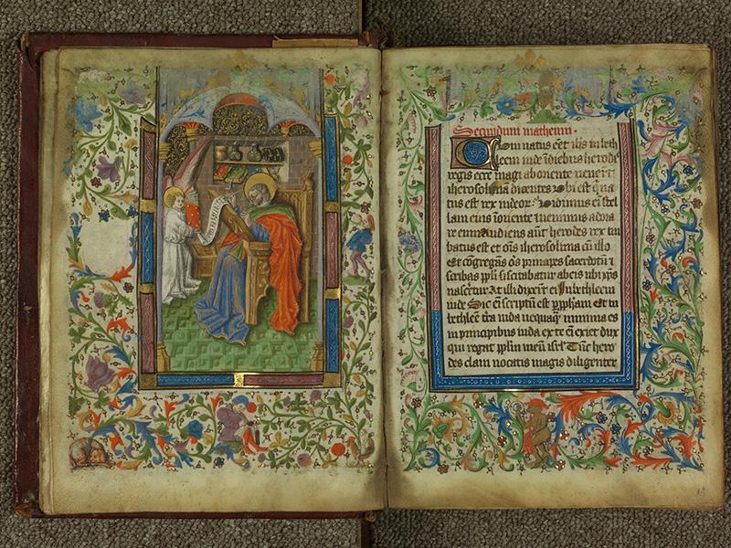 PARIS, Bibliothèque de l'Ecole des Beaux-Arts, Ms.Mas 0004, f. 010v - 011