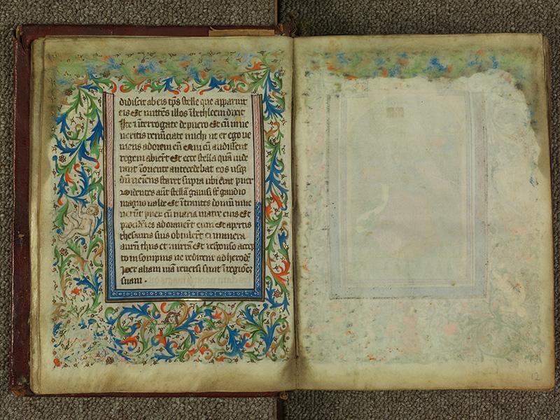 PARIS, Bibliothèque de l'Ecole des Beaux-Arts, Ms.Mas 0004, f. 011v - 012