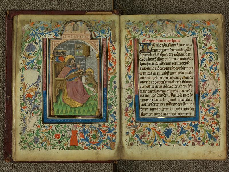 PARIS, Bibliothèque de l'Ecole des Beaux-Arts, Ms.Mas 0004, f. 012v - 013