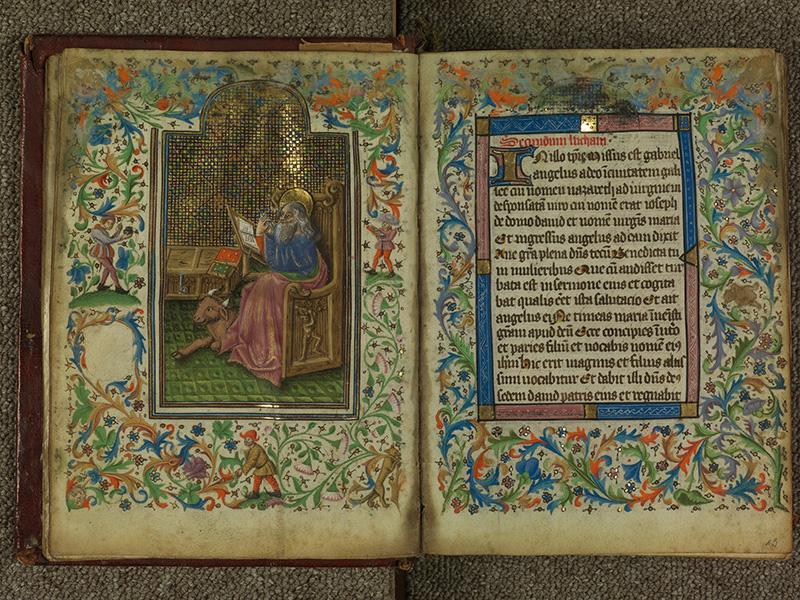 PARIS, Bibliothèque de l'Ecole des Beaux-Arts, Ms.Mas 0004, f. 014v - 015