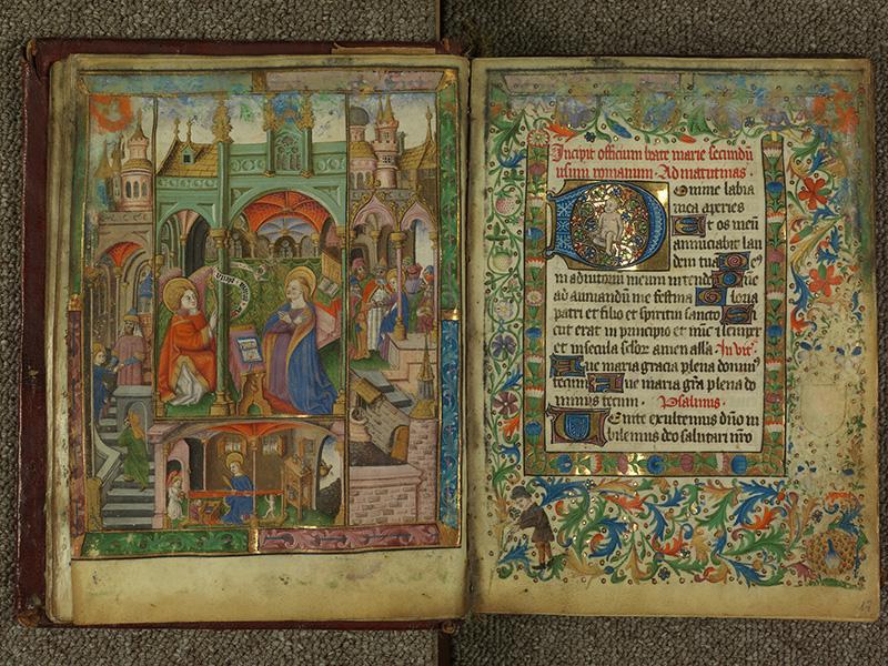 PARIS, Bibliothèque de l'Ecole des Beaux-Arts, Ms.Mas 0004, f. 016v - 017