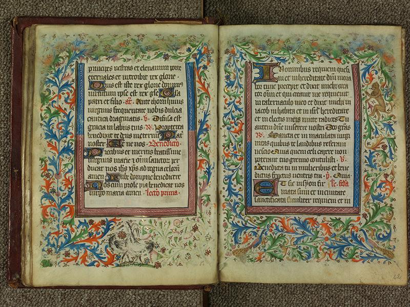PARIS, Bibliothèque de l'Ecole des Beaux-Arts, Ms.Mas 0004, f. 021v - 022