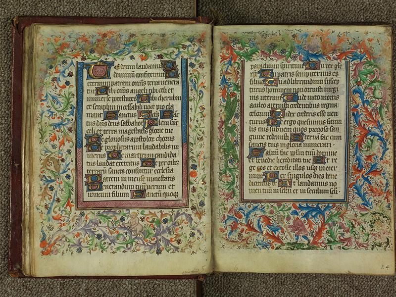 PARIS, Bibliothèque de l'Ecole des Beaux-Arts, Ms.Mas 0004, f. 023v - 024