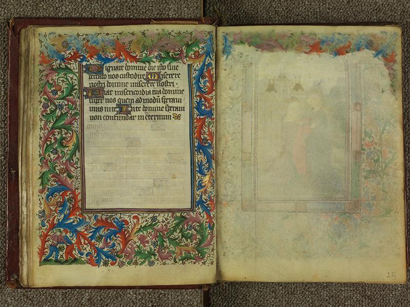 PARIS, Bibliothèque de l'Ecole des Beaux-Arts, Ms.Mas 0004, f. 024v - 025