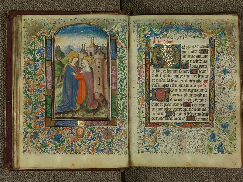 PARIS, Bibliothèque de l'Ecole des Beaux-Arts, Ms.Mas 0004, f. 025v - 026