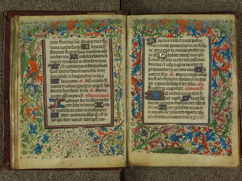 PARIS, Bibliothèque de l'Ecole des Beaux-Arts, Ms.Mas 0004, f. 026v - 027