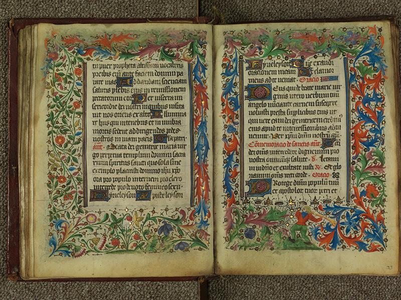 PARIS, Bibliothèque de l'Ecole des Beaux-Arts, Ms.Mas 0004, f. 032v - 033