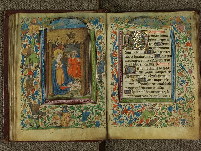 PARIS, Bibliothèque de l'Ecole des Beaux-Arts, Ms.Mas 0004, f. 034v - 035