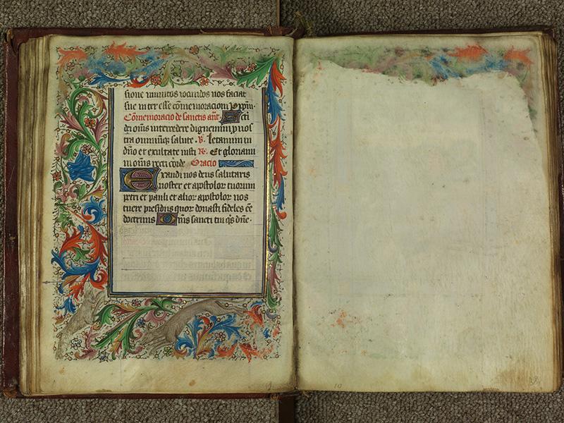PARIS, Bibliothèque de l'Ecole des Beaux-Arts, Ms.Mas 0004, f. 037v - 038