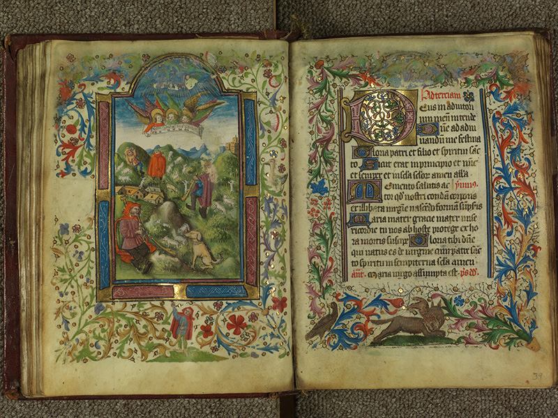 PARIS, Bibliothèque de l'Ecole des Beaux-Arts, Ms.Mas 0004, f. 038v - 039