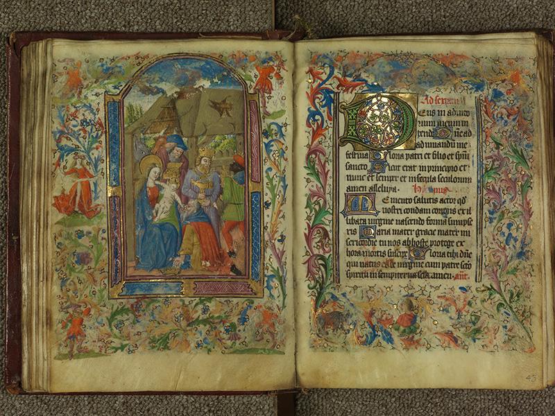 PARIS, Bibliothèque de l'Ecole des Beaux-Arts, Ms.Mas 0004, f. 042v - 043