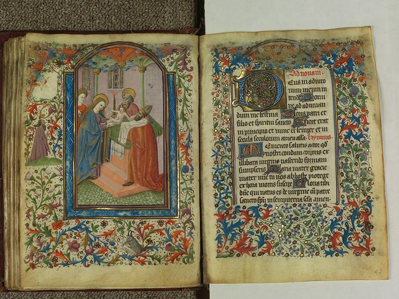 PARIS, Bibliothèque de l'Ecole des Beaux-Arts, Ms.Mas 0004, f. 046v - 047