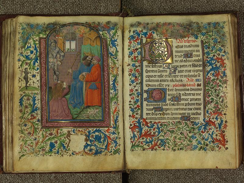 PARIS, Bibliothèque de l'Ecole des Beaux-Arts, Ms.Mas 0004, f. 050v - 051