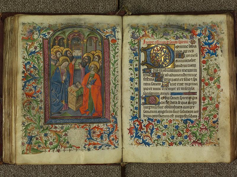 PARIS, Bibliothèque de l'Ecole des Beaux-Arts, Ms.Mas 0004, f. 071v - 072
