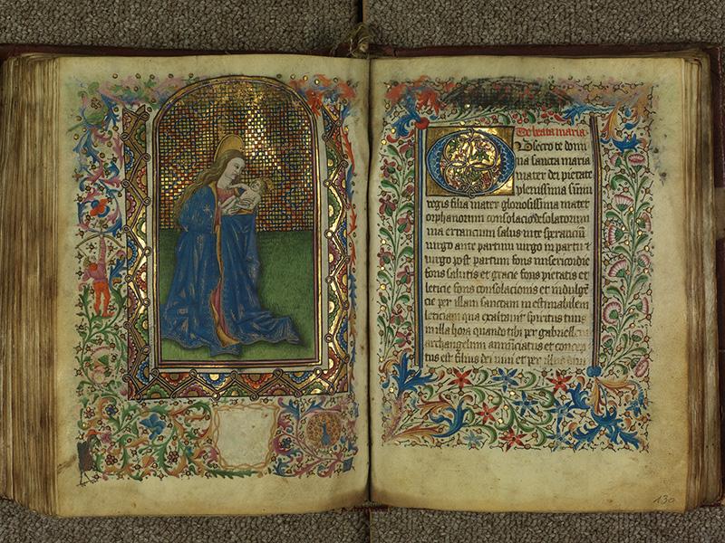 PARIS, Bibliothèque de l'Ecole des Beaux-Arts, Ms.Mas 0004, f. 129v - 130