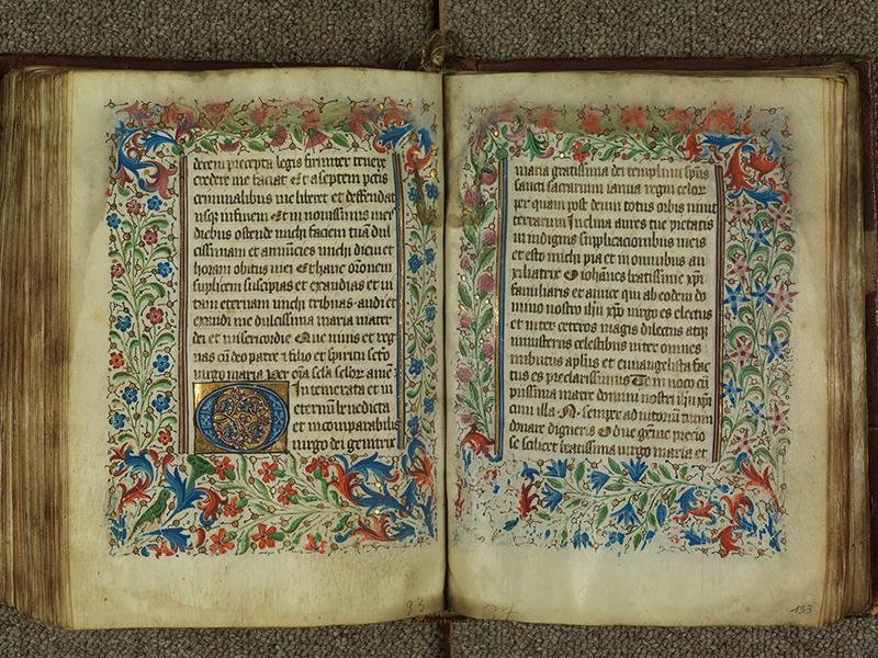 PARIS, Bibliothèque de l'Ecole des Beaux-Arts, Ms.Mas 0004, f. 132v - 133