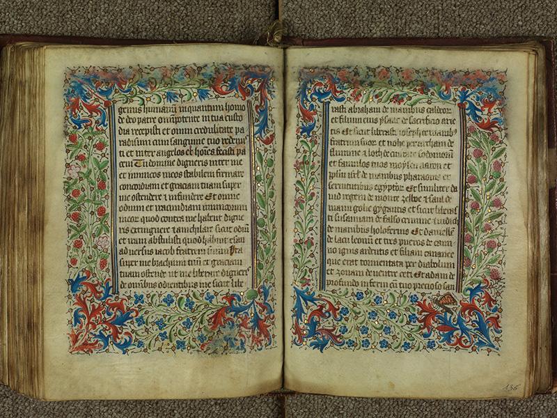 PARIS, Bibliothèque de l'Ecole des Beaux-Arts, Ms.Mas 0004, f. 135v - 136